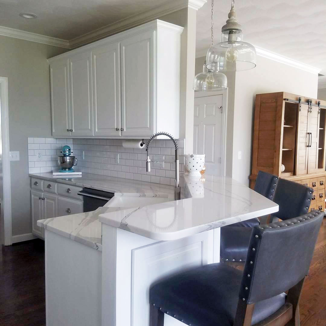 White Cabinets With Brown Glaze: General Finishes Design Center