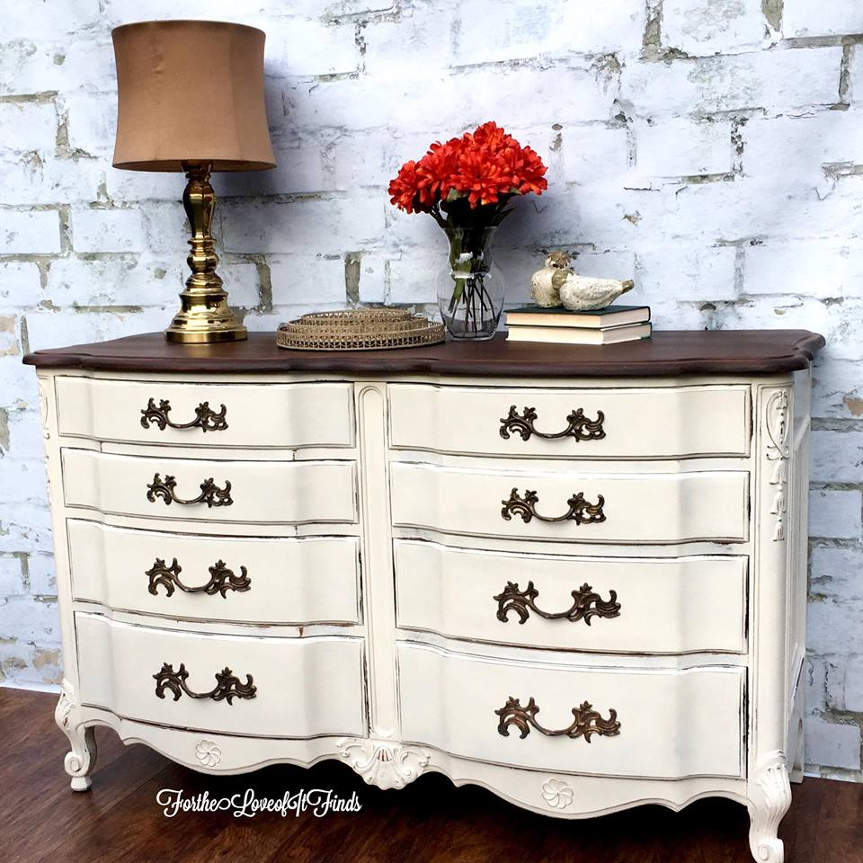 antique white dresser refinish by for the it finds 87953
