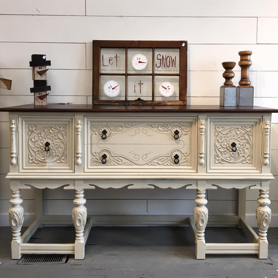 Buffet In Linen And Java General Finishes Design Center