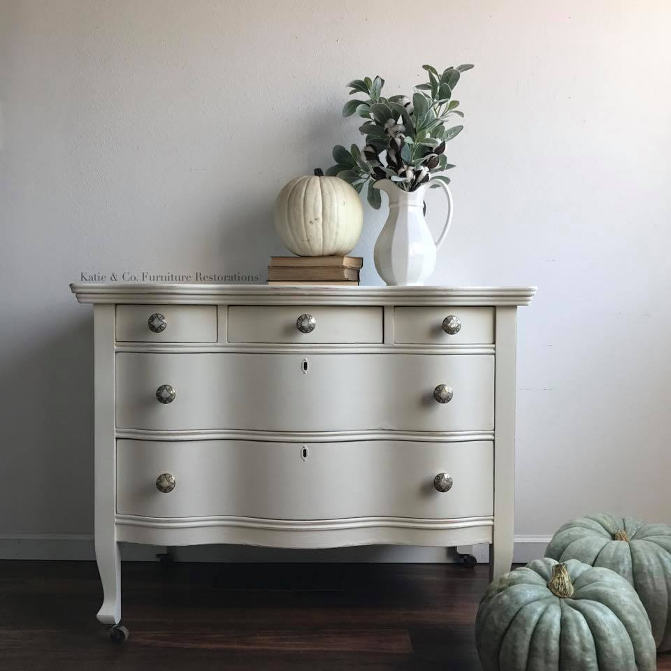 Delightfully Decked Buffet In Antique White