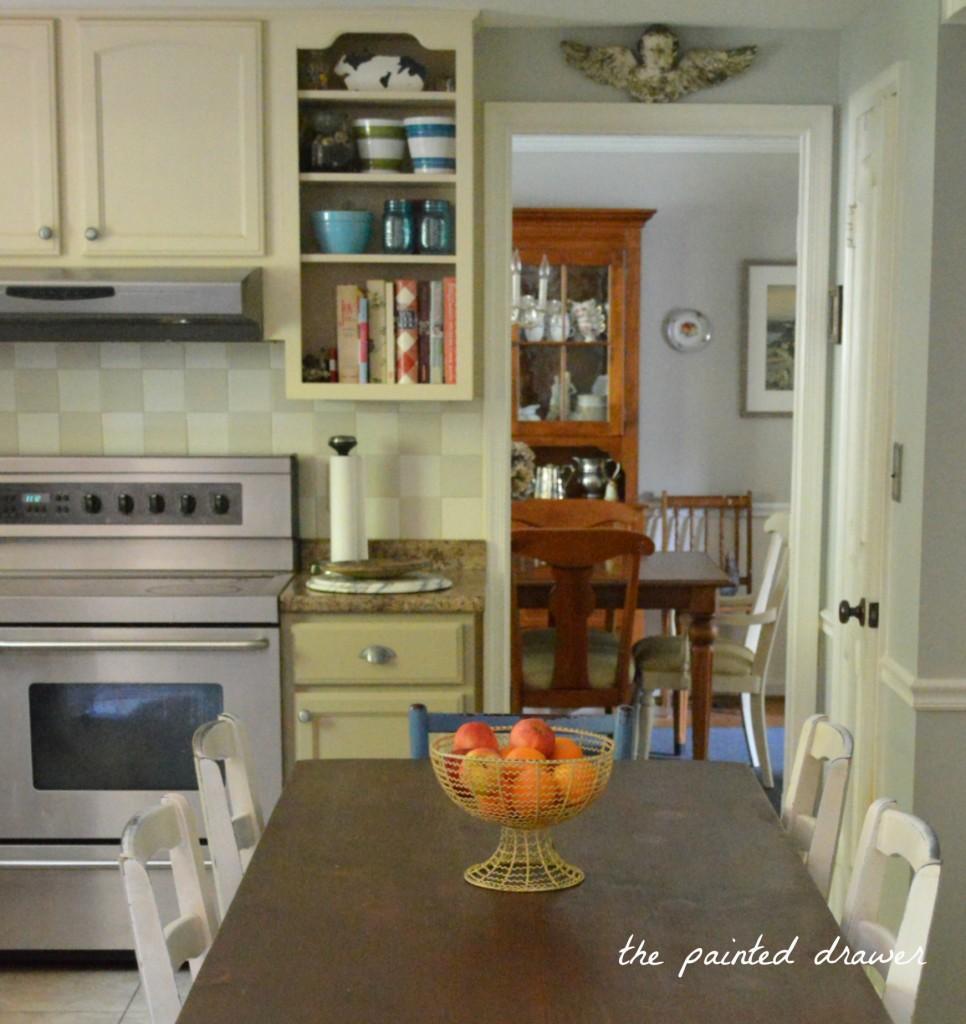 Kitchen Transformation in Millstone Milk Paint | General ...