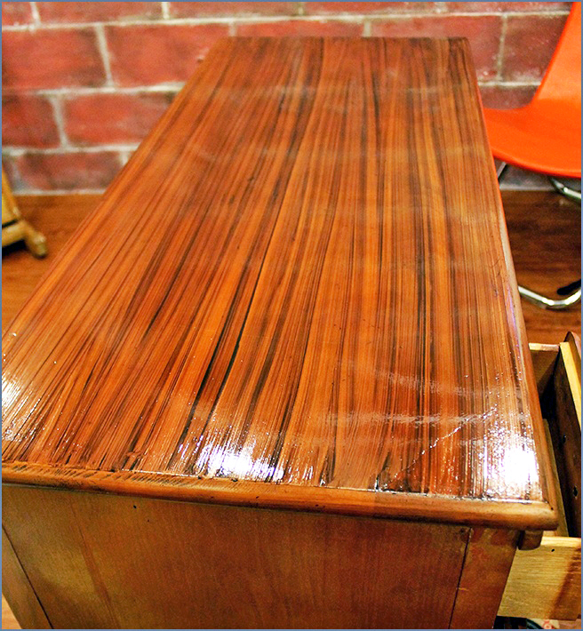 Faux Woodgrain With Java Gel Stain General Finishes