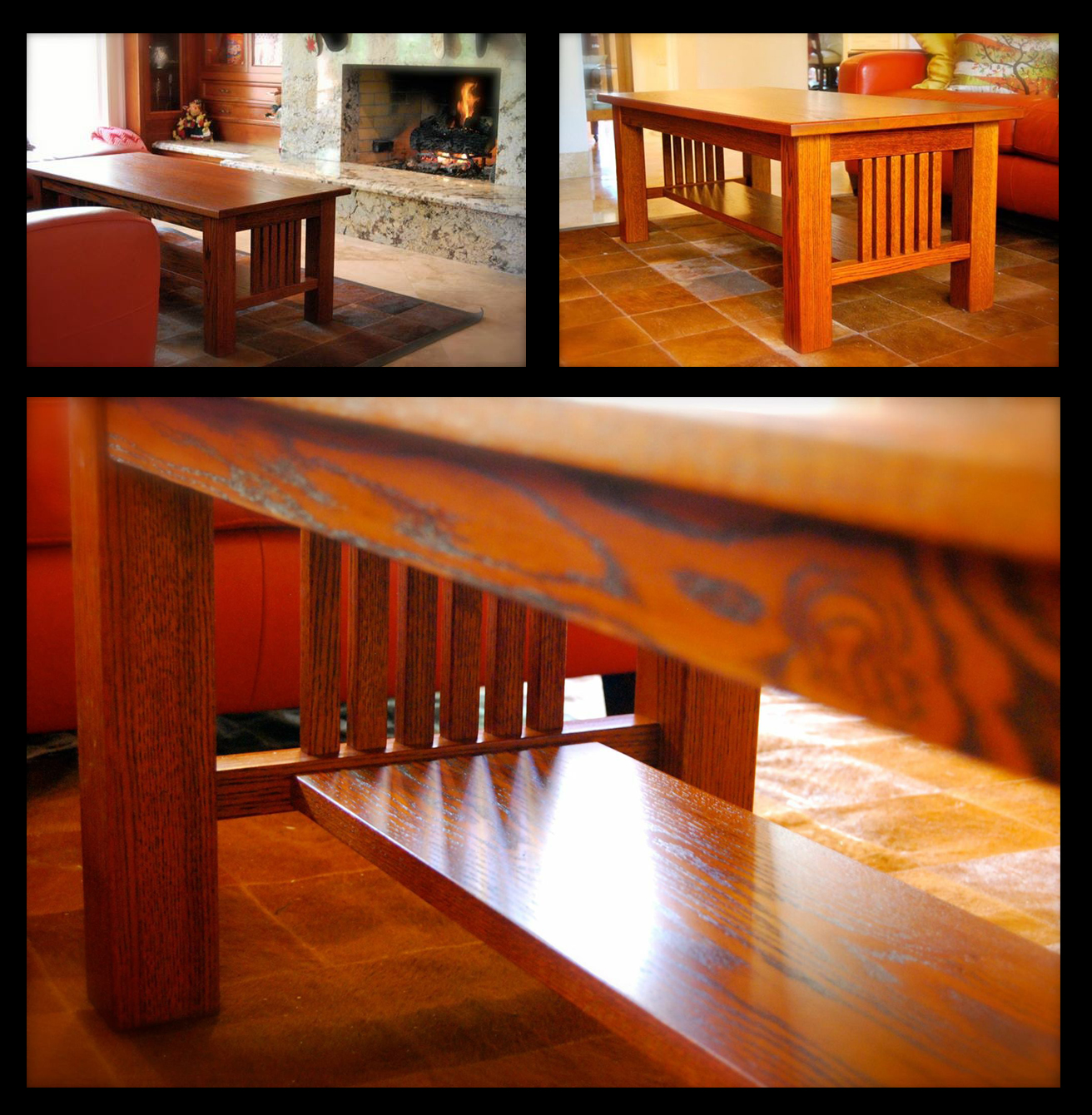 Water based dye stain general finishes coffee table in a fabulous orange and brown dye stain mix nvjuhfo Image collections