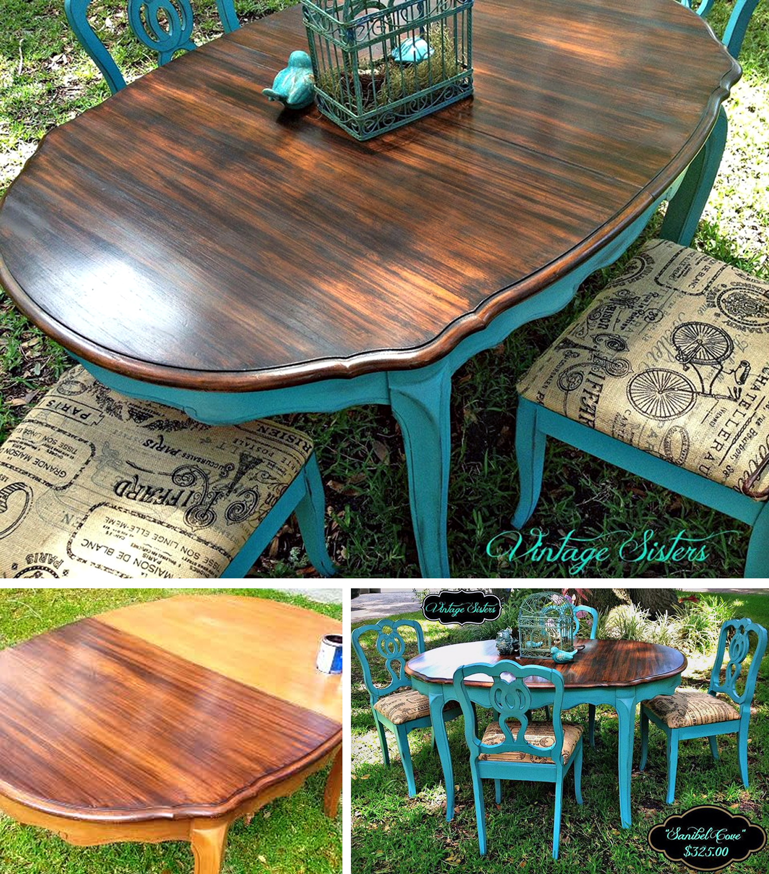 Sanibel Cove Dining Set General Finishes Design Center