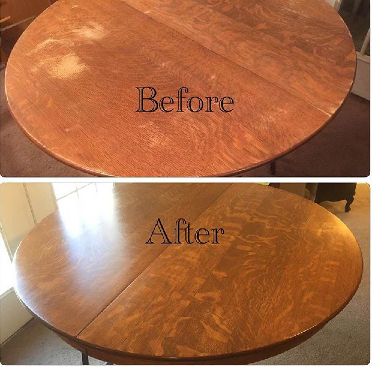 Table Top In American Oak Gel Stain General Finishes