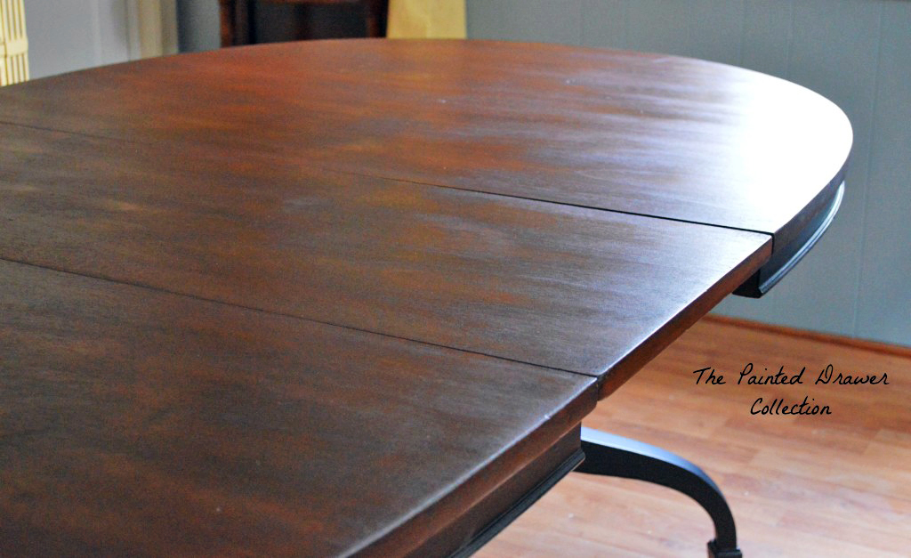 Dye Stain And Gel Classic Dining Room Table