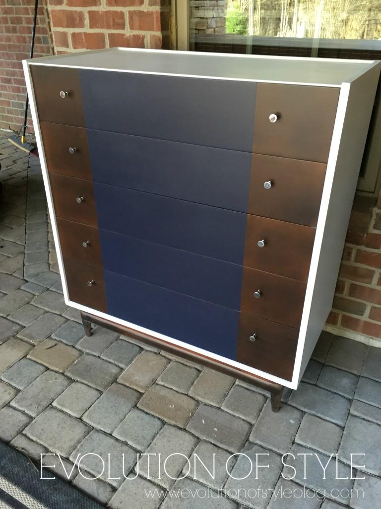 Dresser In Walnut Water Based Wood Stain General
