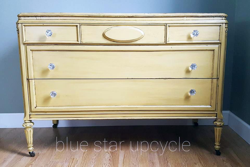 Glazed Somerset Gold Dresser General Finishes Design Center