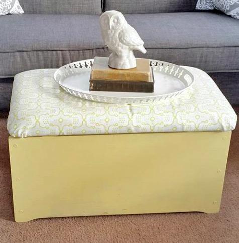 moroccan yellow ottoman general finishes design center. Black Bedroom Furniture Sets. Home Design Ideas