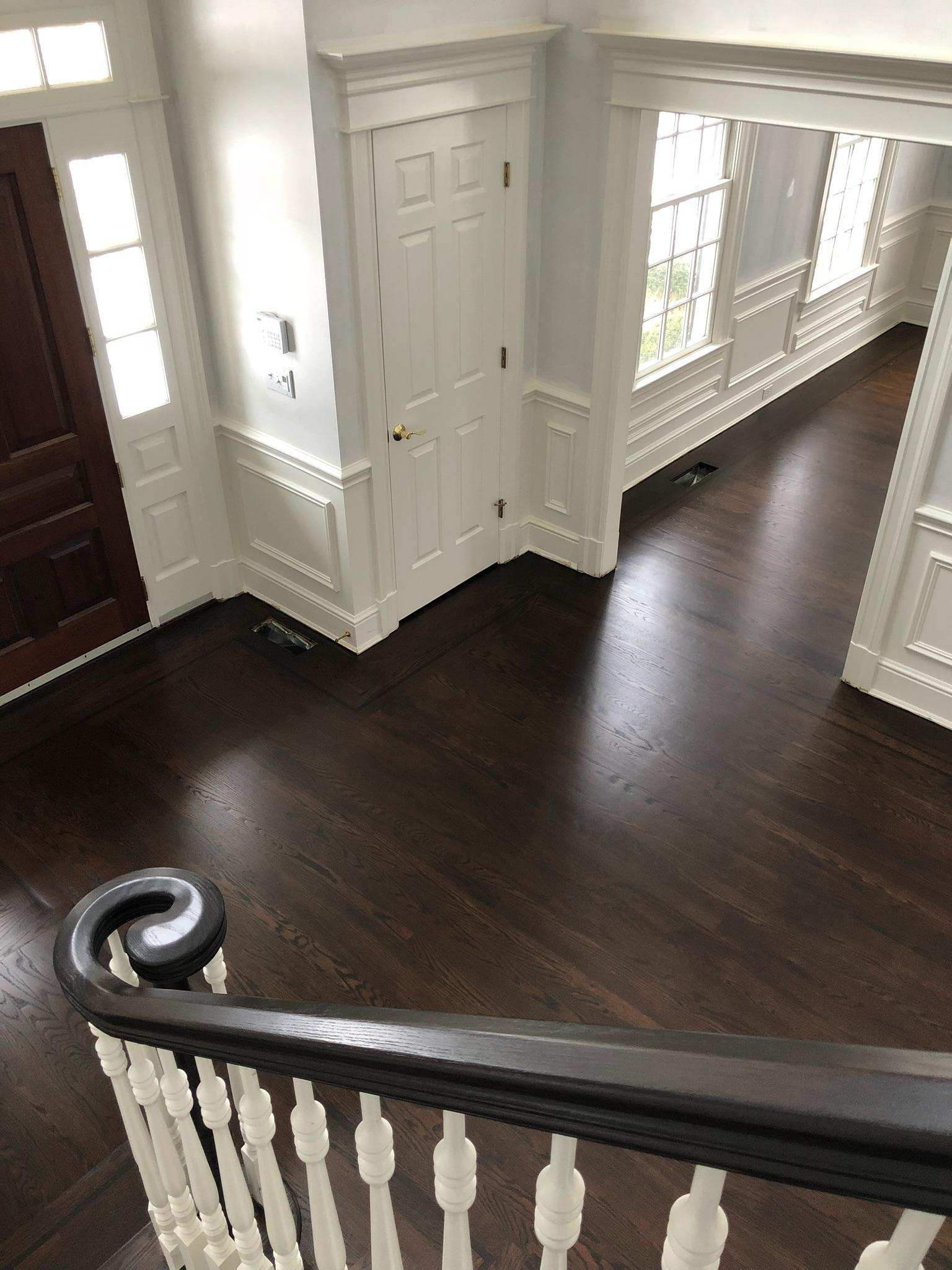 Stunning Floor Makeover With Tobacco And Cocbolo General Finishes Design Center