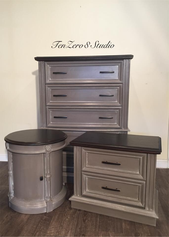 Red Chalk Paint Furniture