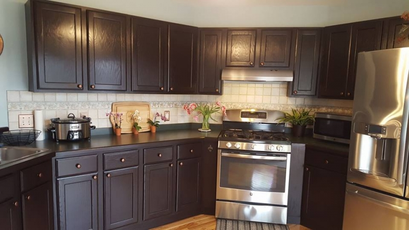 Java Gel Kitchen Cabinets | General Finishes Design Center