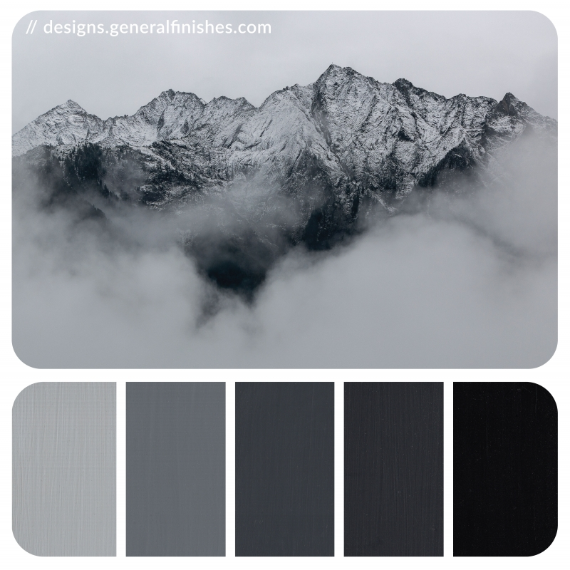 Gray Color Palette General Finishes Design Center