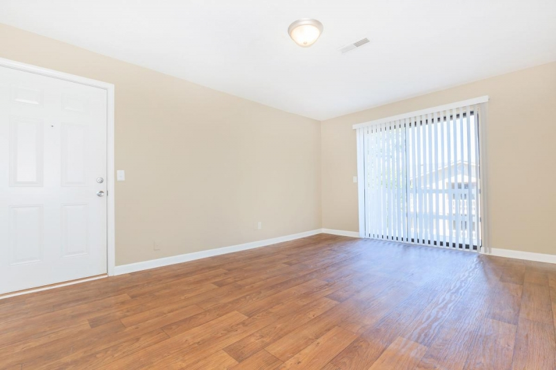 An empty room after remodeling is finished