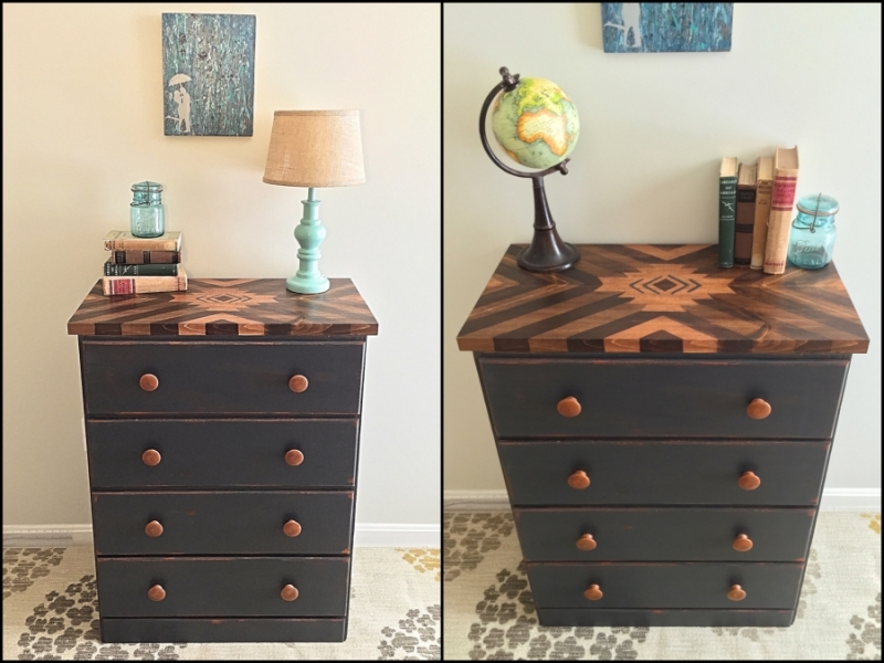 Southwestern Stained Dresser General Finishes Design Center