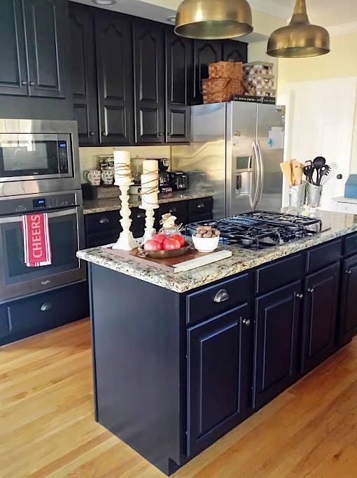 Lamp Black Kitchen Cabinets | General Finishes Design Center