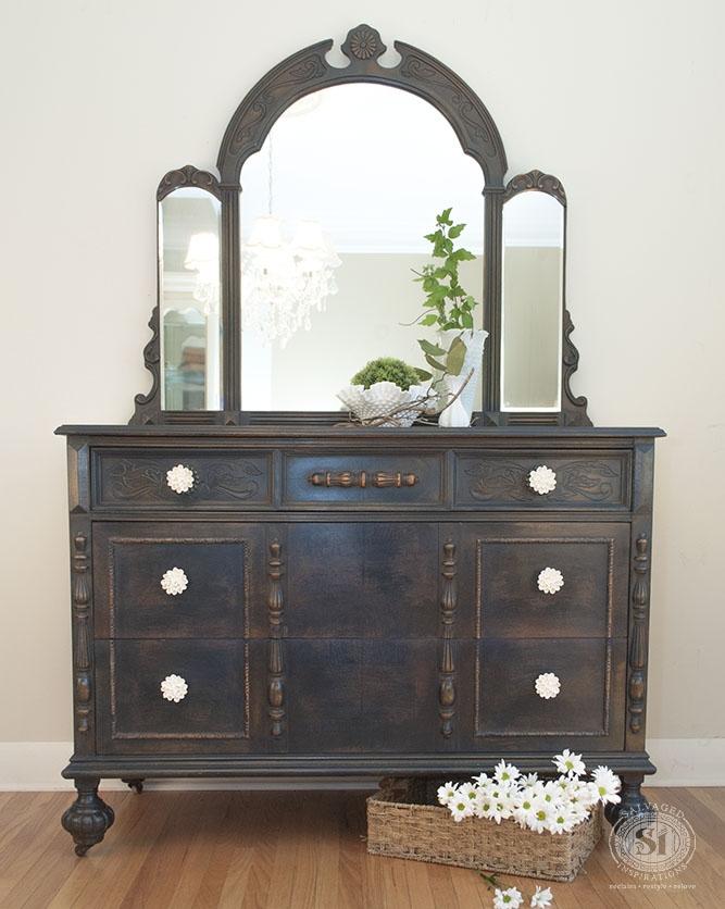 Coastal Blue Distressed Dresser | General Finishes Design Center