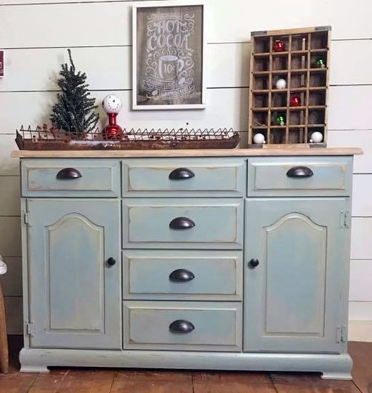 Perisian Gray Chalk Paint