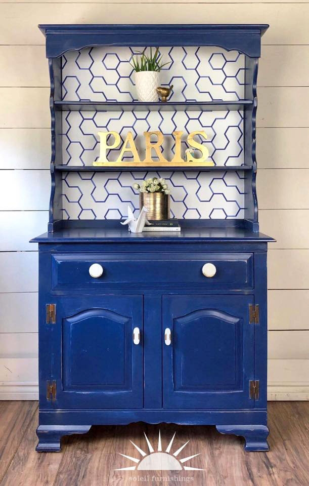 China Blue Hutch General Finishes Design Center