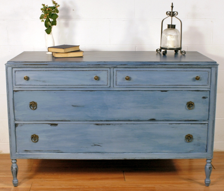Watered Chalk Paint Finishes