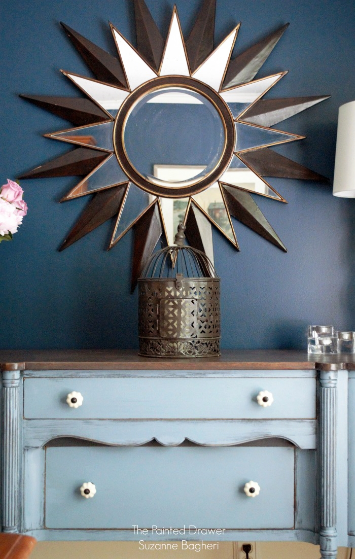 Stillwater Blue Chalk Style Paint Sideboard General