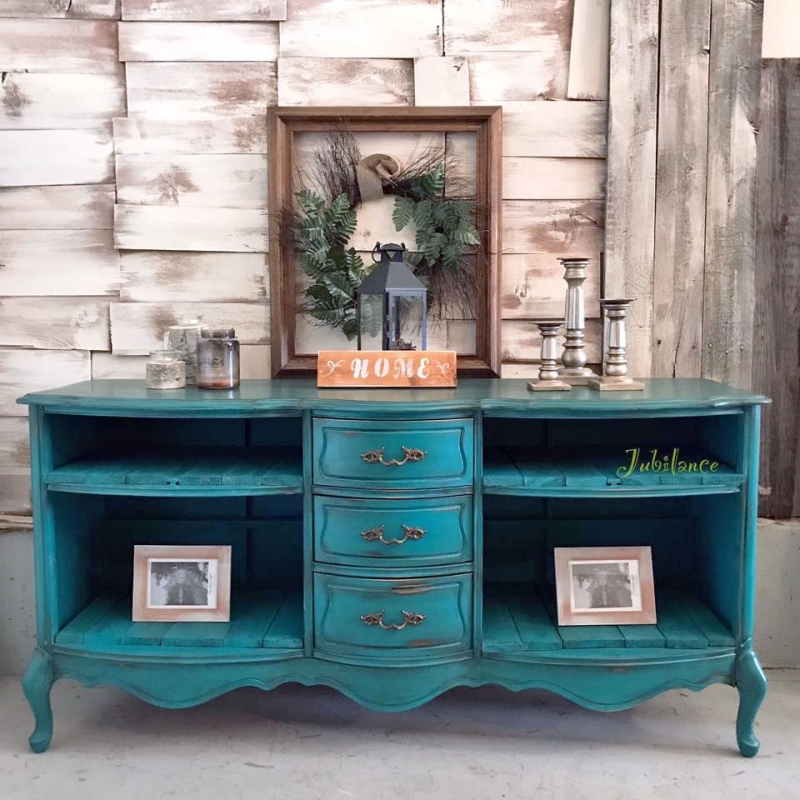 Turquoise Dresser General Finishes Design Center