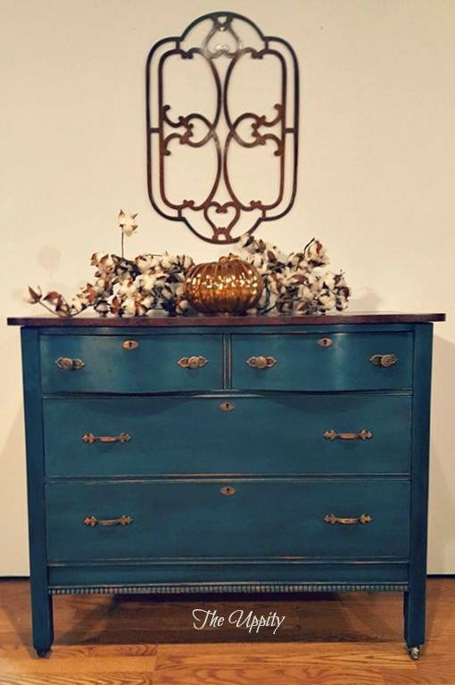 Dresser With Gel Stain Faux Burl Effect General Finishes Design Center