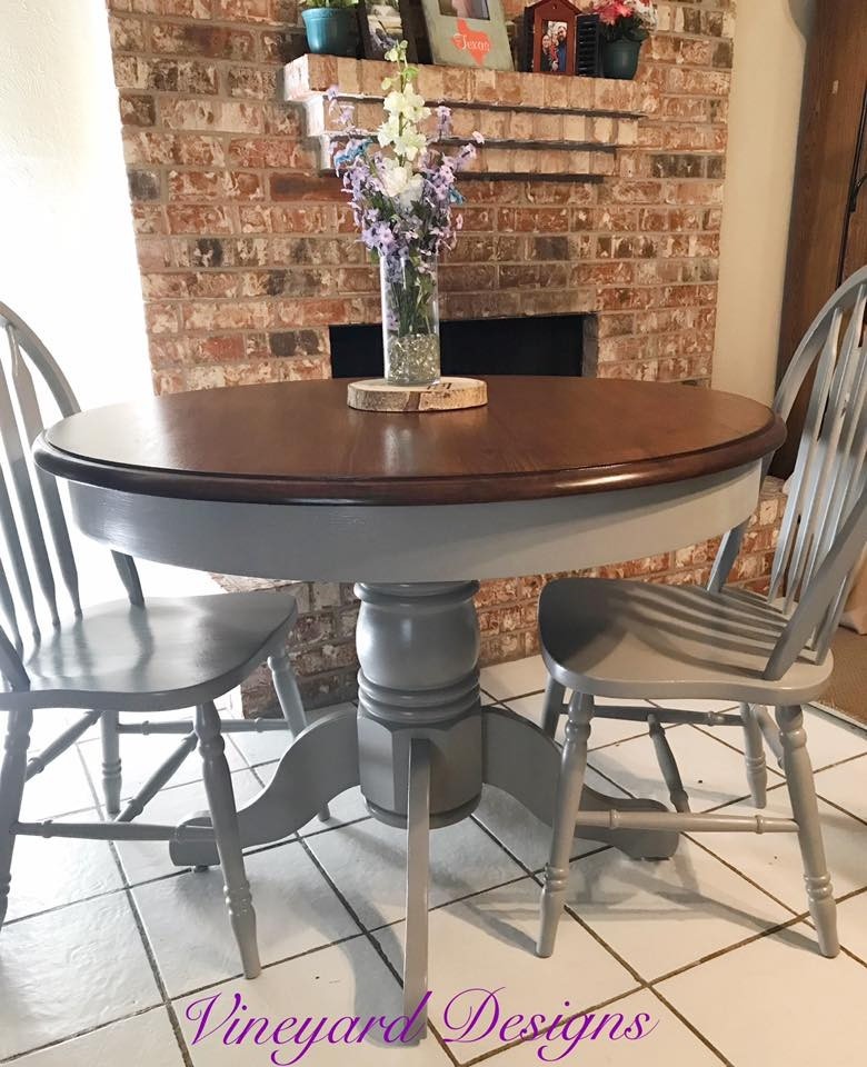 General Finishes Design Center: Table Top Refinished With Java Gel Stain