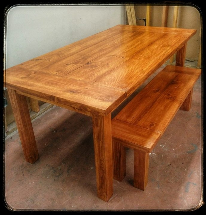 Farm Table In Gf S Pecan Water Based Wood Stain General