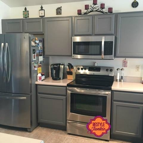 Custom Gray Kitchen Cabinets General Finishes Design Center