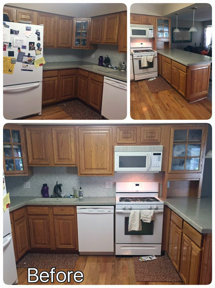 Seagull Gray And Driftwood Kitchen Cabinets | General Finishes Design Center