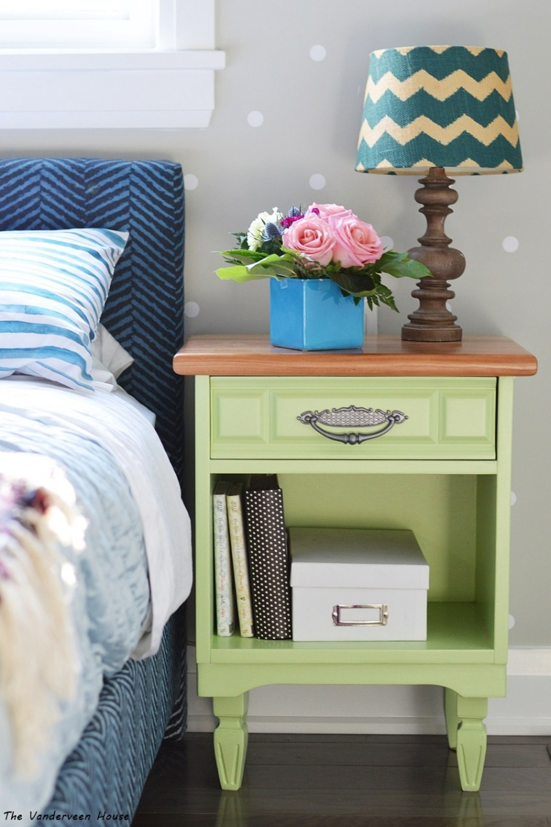 Custom Green Nightstands General Finishes Design Center