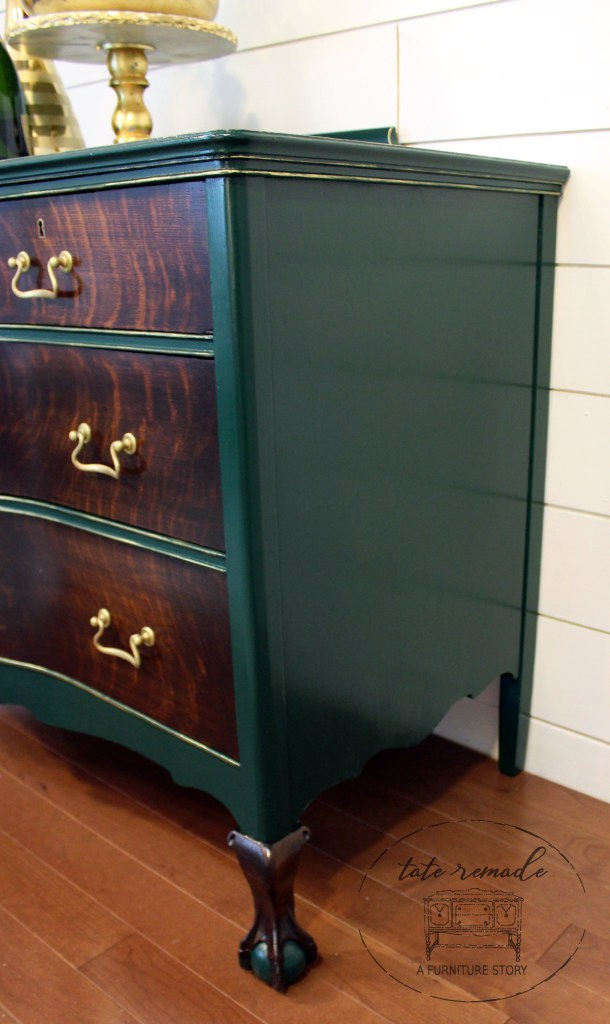 Custom Green Dresser General Finishes Design Center