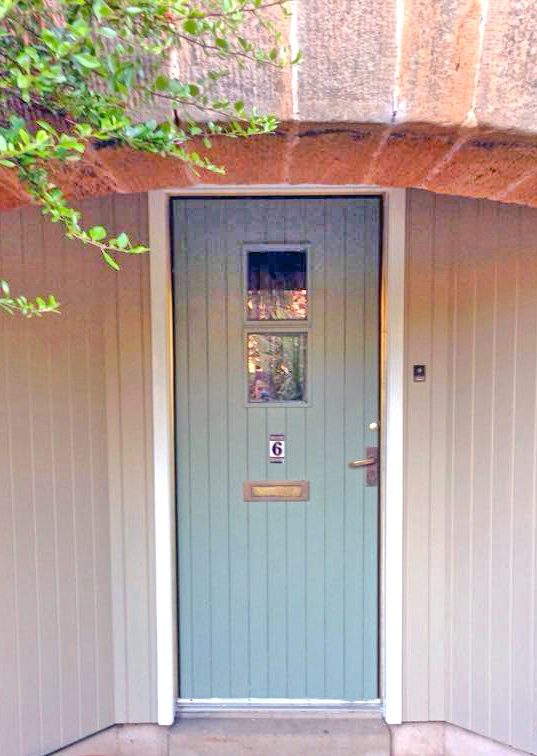 Basil And Millstone Front Door Makeover | General Finishes Design Center