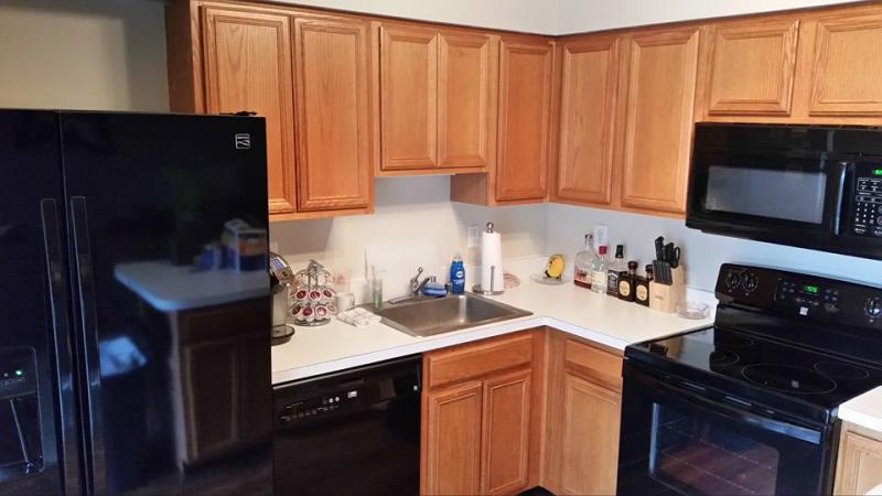 Kitchen Cabinets Using Java Chalk Paint