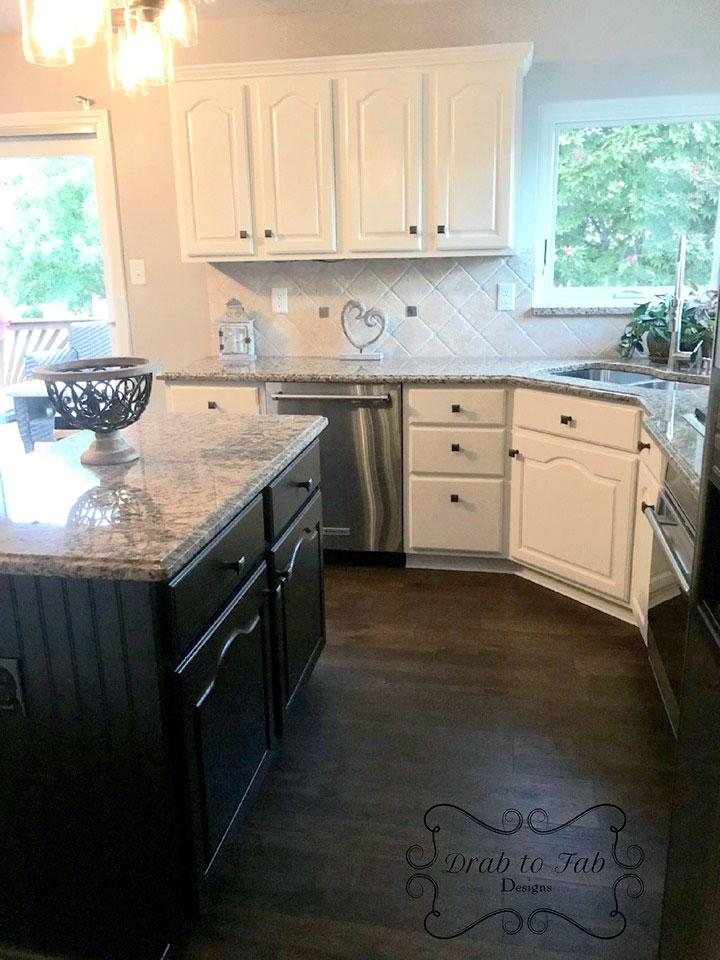Alabaster Kitchen Cabinet Makeover General Finishes Design Center