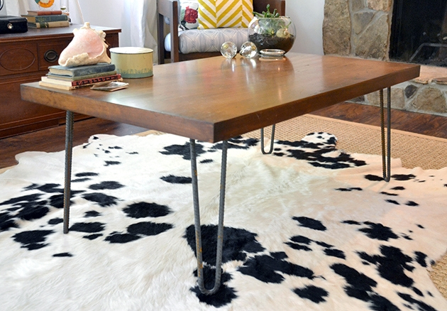 Rustic Industrial Coffee Table Makeover General Finishes Design