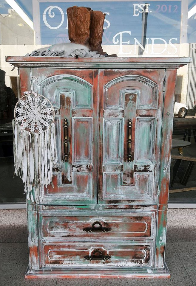 Layered Boho Chic Cabinet General Finishes Design Center