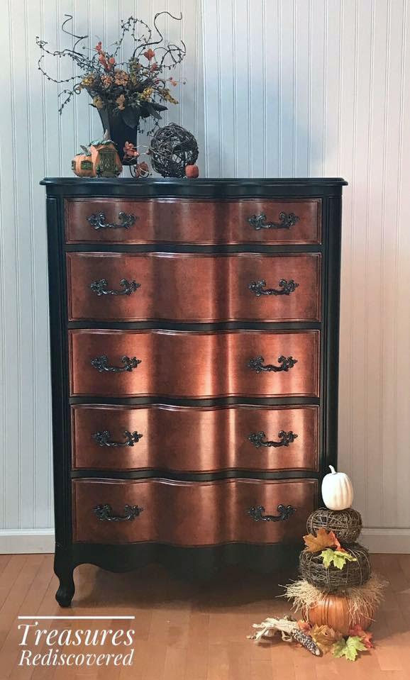 Copper Pearl Effects Dresser General Finishes Design Center