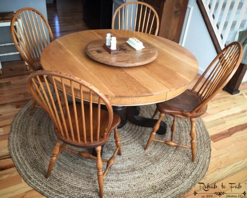 armrseal antique oak table  general finishes design center