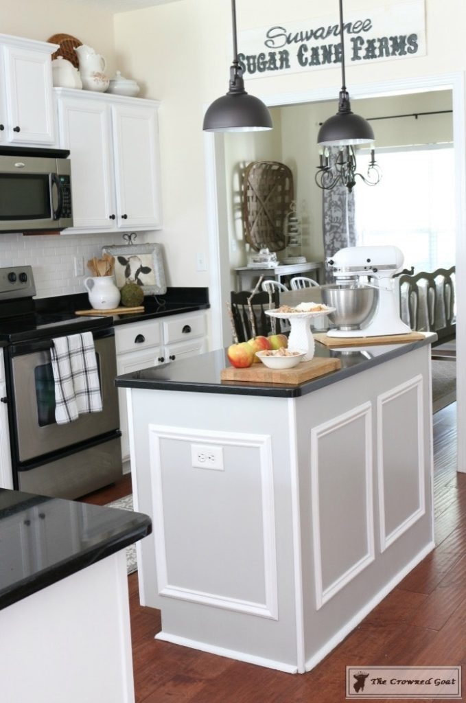 Snow White Kitchen Cabinet Makeover General Finishes