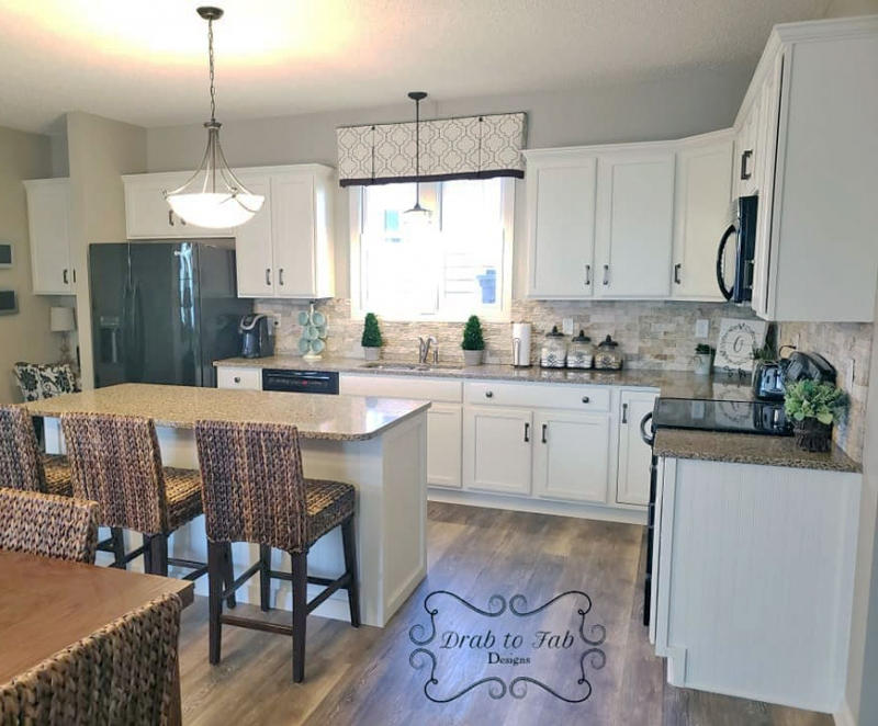 Antique White Kitchen Cabinets | General Finishes Design ...