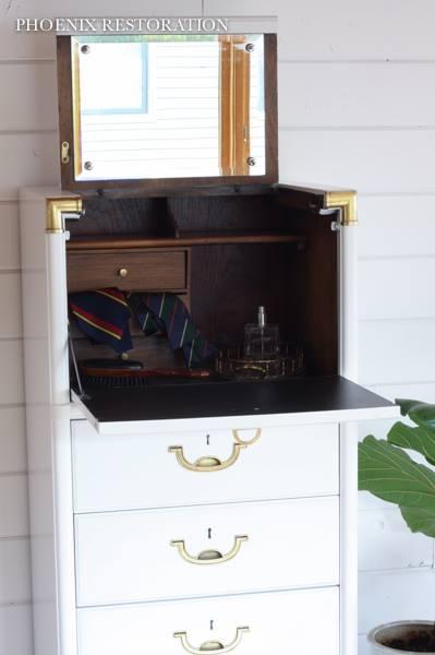 Dressers in Snow White Milk Paint & HPTC Semi-Gloss ...