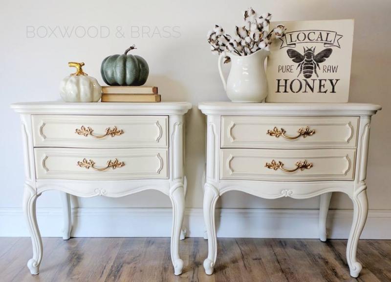 White Linen Chalk Paint Oil Based