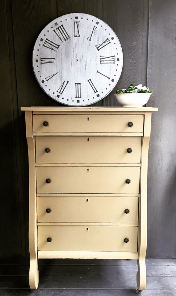 Dresser In Gold And Glaze Effects General Finishes