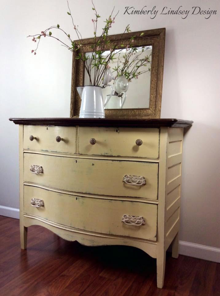 Buttermilk Yellow Dresser General Finishes Design Center