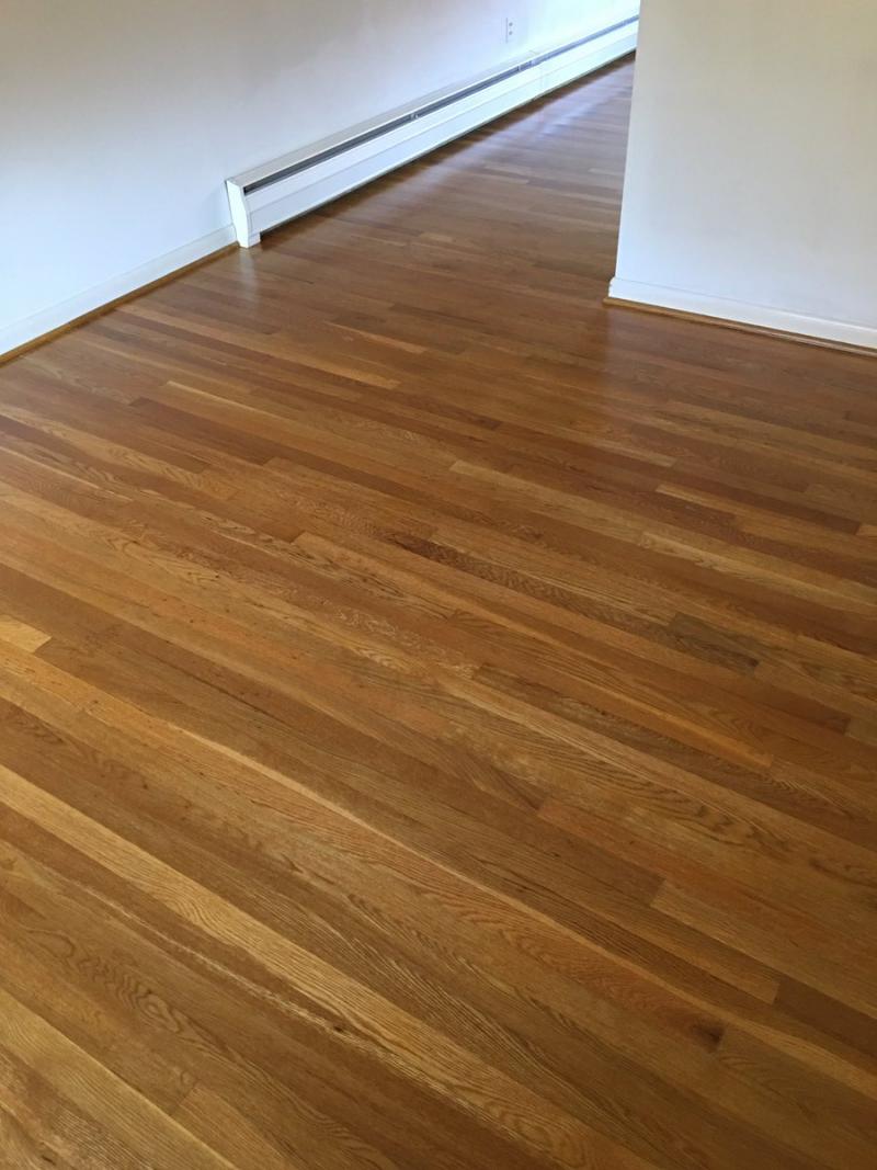 Flooring Finish With Pro Image Satin Finish General