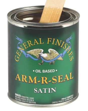 General Finishes Arm-R-Seal Oil Based Topcoat in Satin, Quart