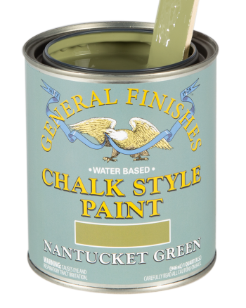 General Finishes Chalk Style Paint, Quart, Nantucket Green