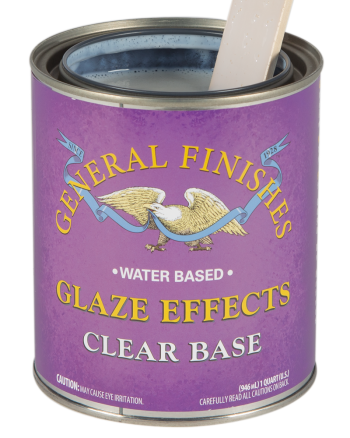 General Finishes Glaze Effects, Quart, Clear Base